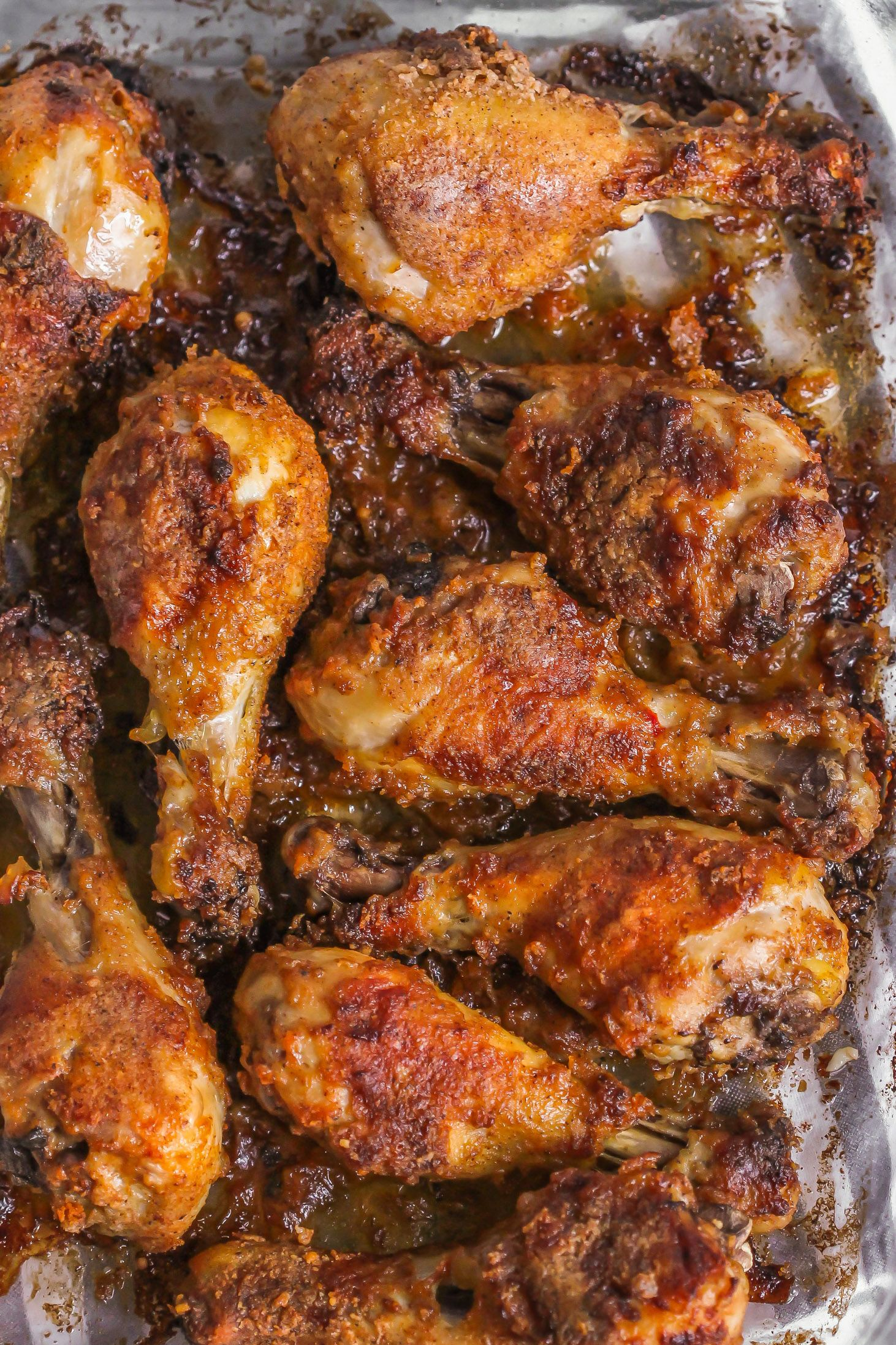 Baked Chicken Drumsticks Oven Baked Delish Lil Luna Recipe Drumstick Recipes Oven Baked Chicken Legs Baked Chicken Legs