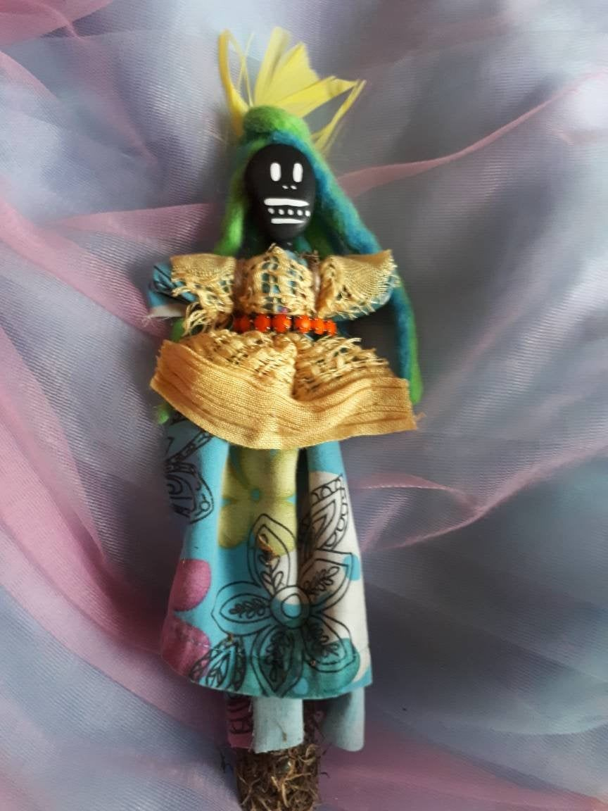 Real Voodoo doll, real, strong connection to Nature ...