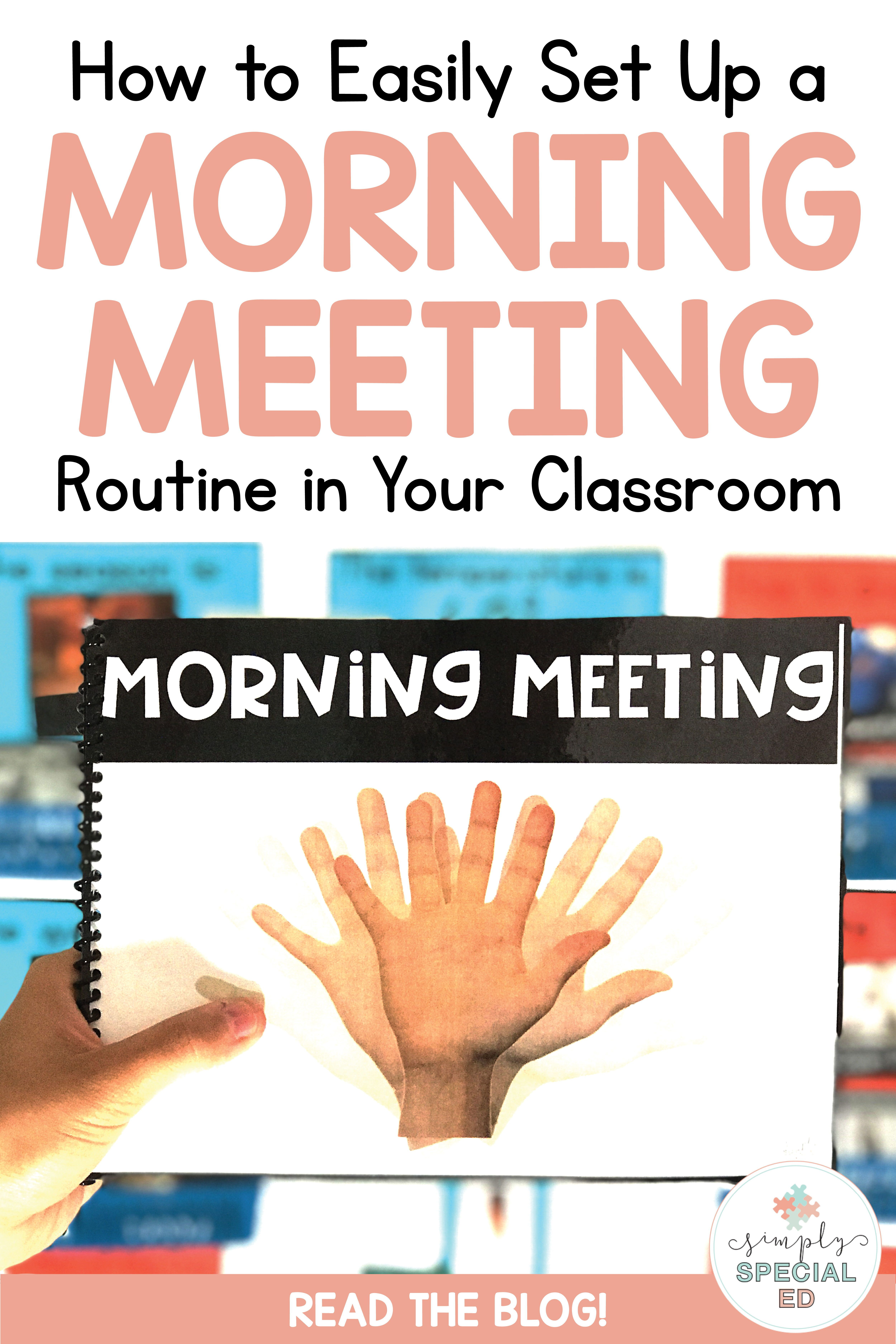 Morning Meeting Routine