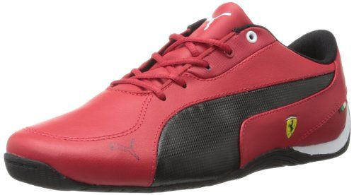 PUMA Drift Cat 5 Leather Ferrari Junior Sneaker (Little Kid/Big Kid) >>> Click on the image for additional details.