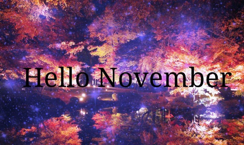 Любимому мужу, картинки с надписью ноябрь на английском