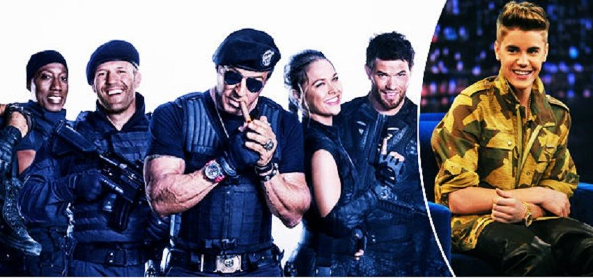 'The Expendables 3′ Movie Stars Want Justin Bieber for the Next Film