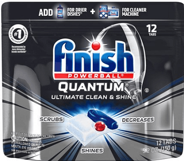 Finish Quantum Detergent Finish Max In 1 Detergent Or Finish Jet Dry Rinse Aid Coupon Dishwasher Detergent Dishwasher Tabs Dishwasher Detergent Tablets