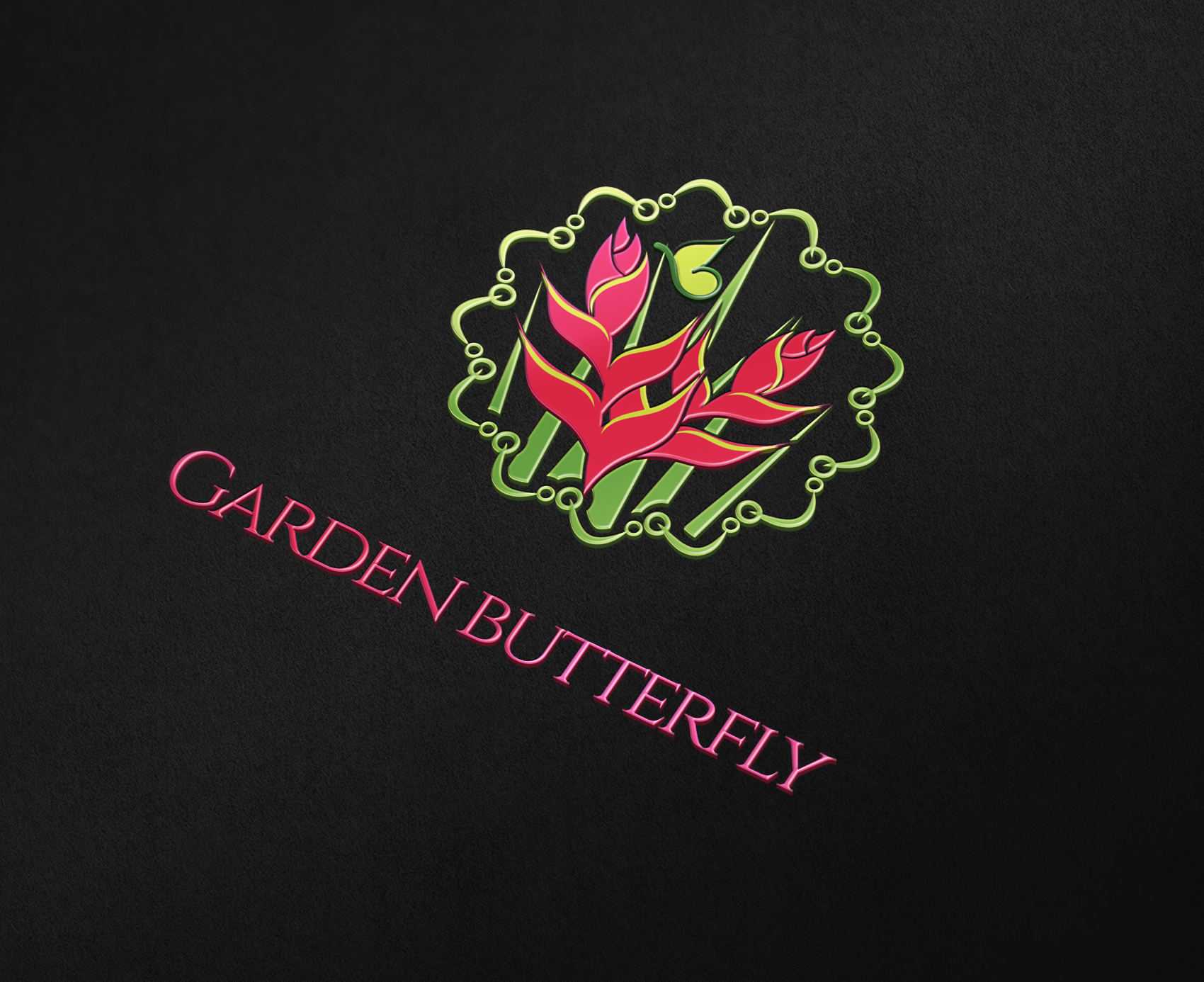 9 best garden flowers and environment logo design images on
