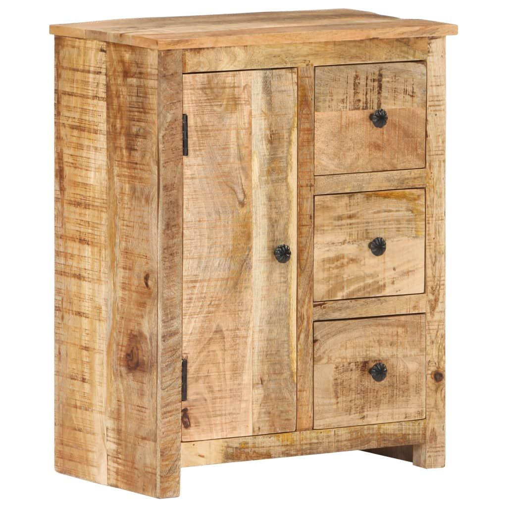 vidaXL Sideboard 59x35x75 cm Rough Mango Wood