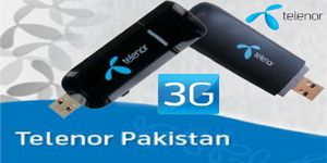 Enjoy Telenor 3 Months Free 3G Usb Devices with 30 GB