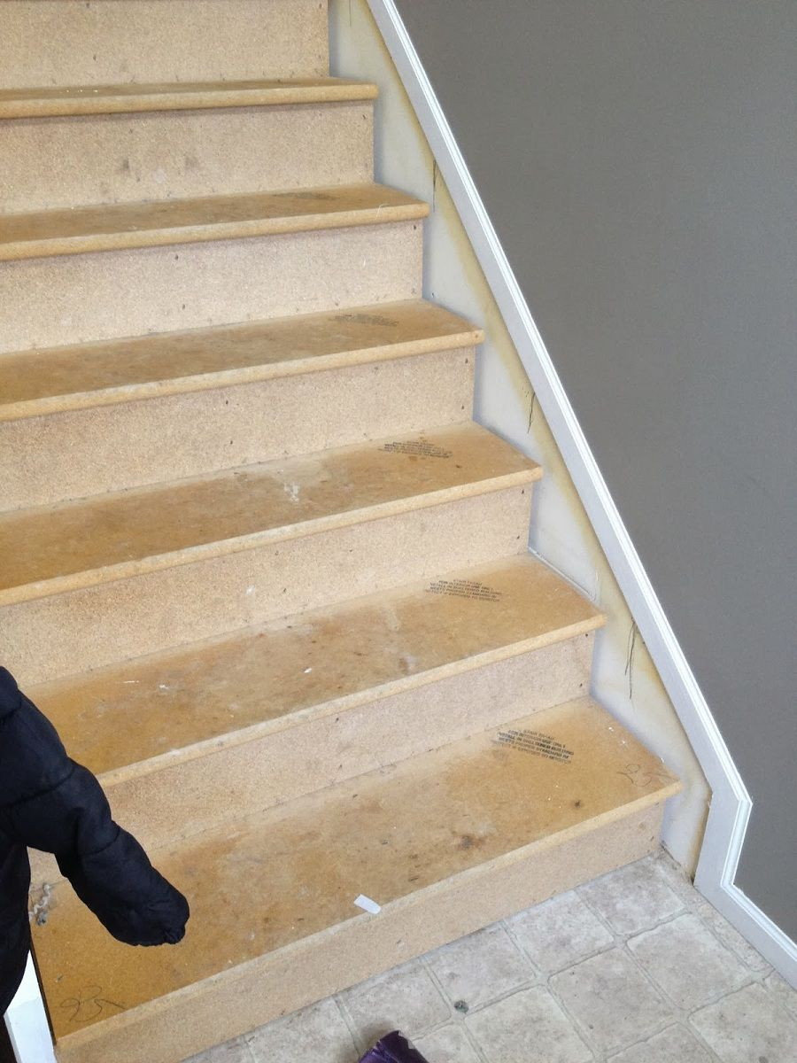 Best Wood Stair Skirt Trim Hardwood Stairs Stair Makeover 400 x 300