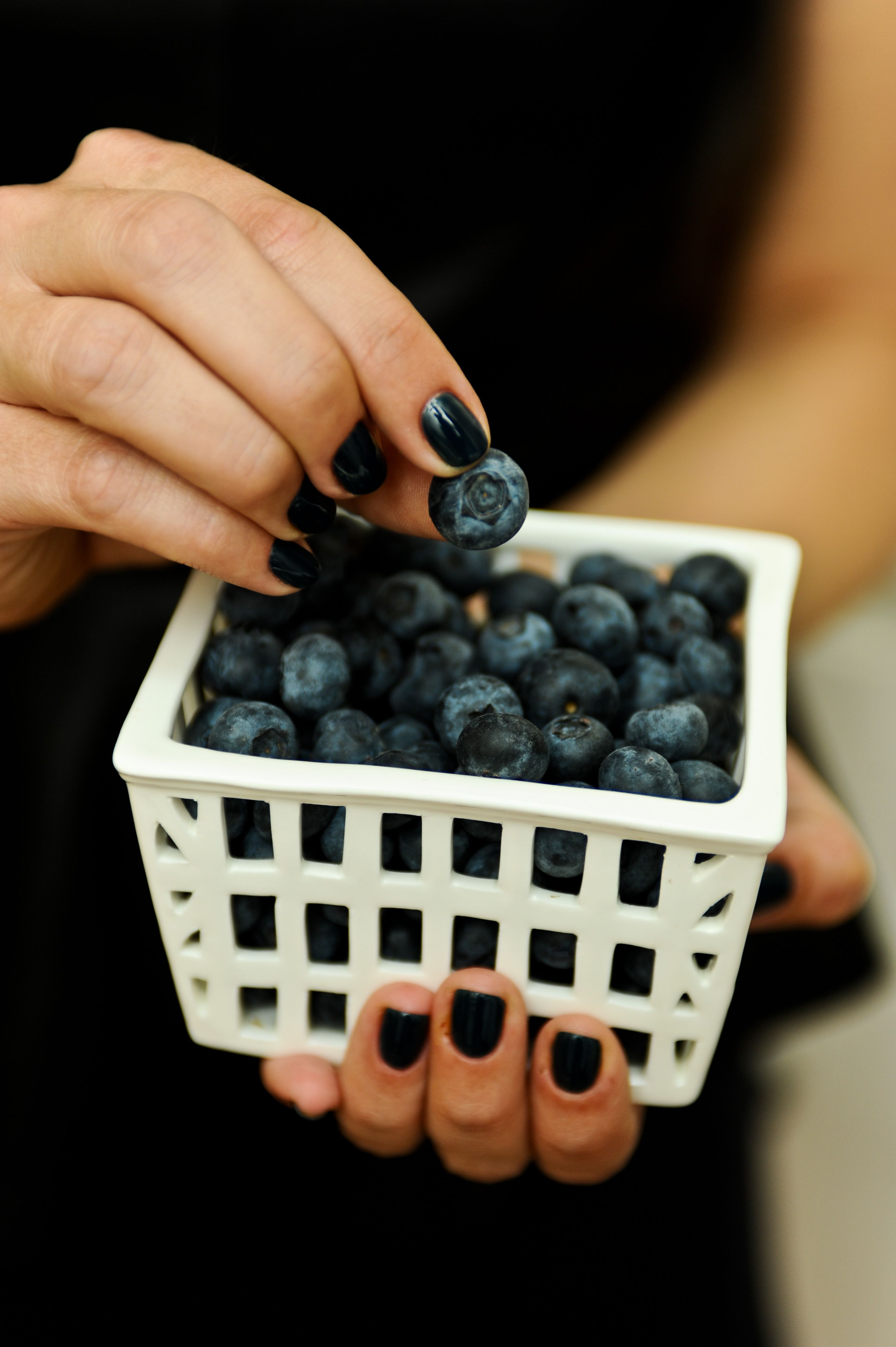 Blueberries blue nails awesome nails pinterest blue nails