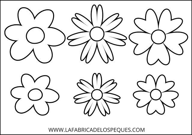 Moldes De Hojas Para Colorear Moldes De Hojas De Flores Para
