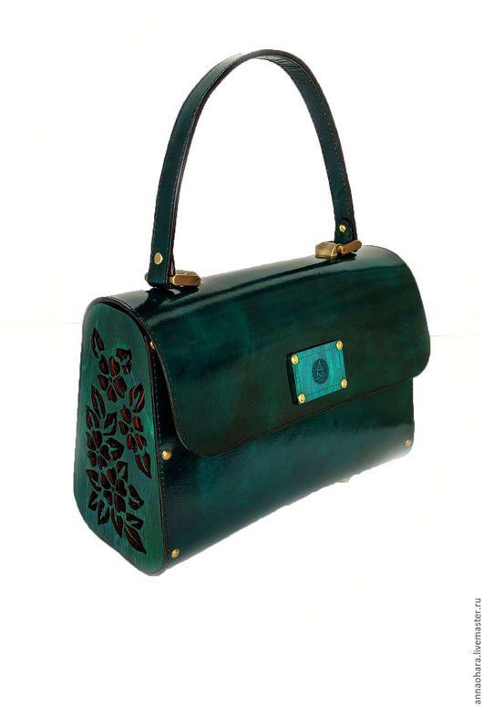 5104c4a3fbba Женские сумки ручной работы. Ярмарка Мастеров - ручная работа. Купить Сумка  из дерева и кожи