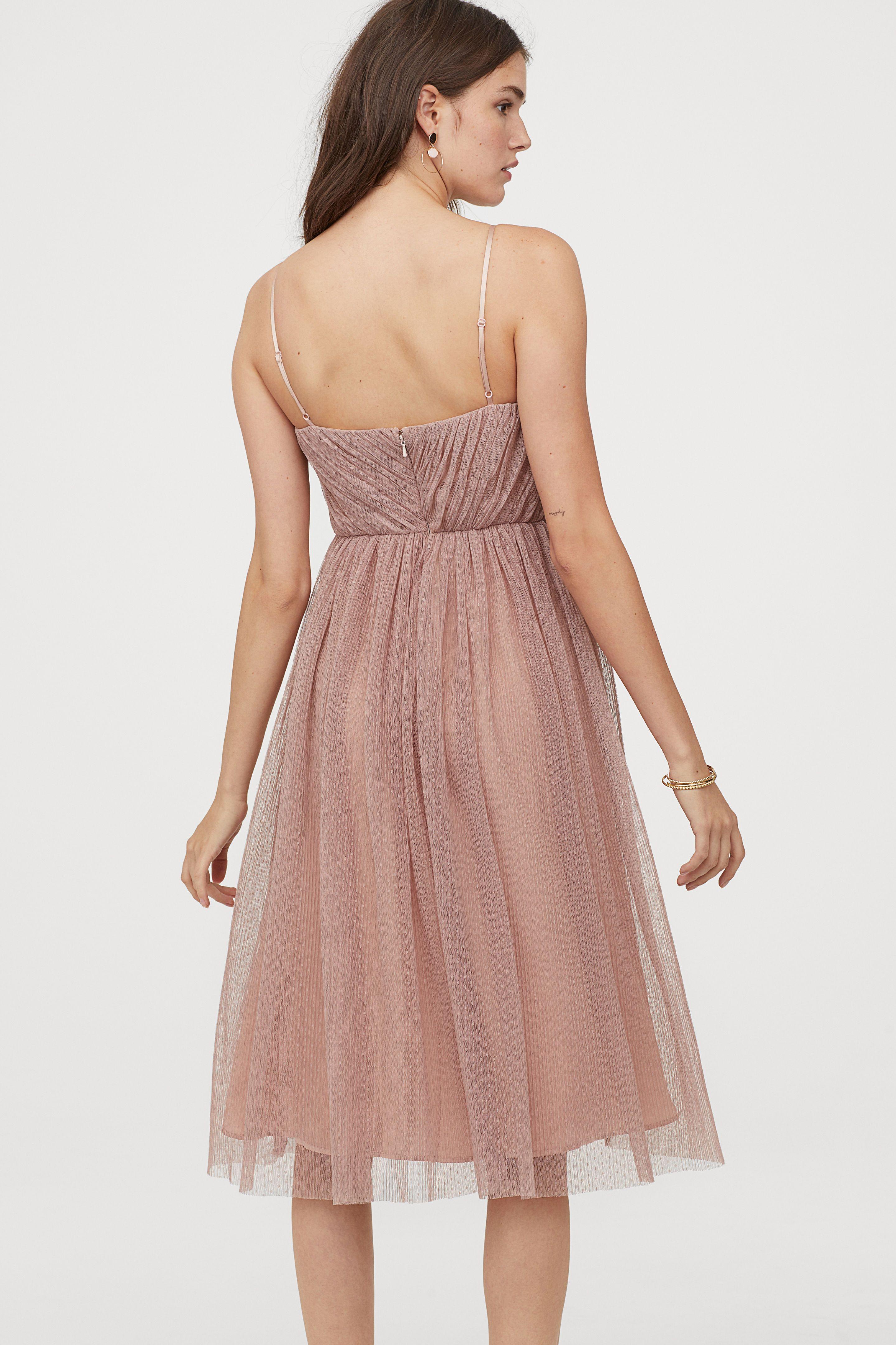 Pdp Tullkleidchen Wadenlanges Kleid Kleider H M