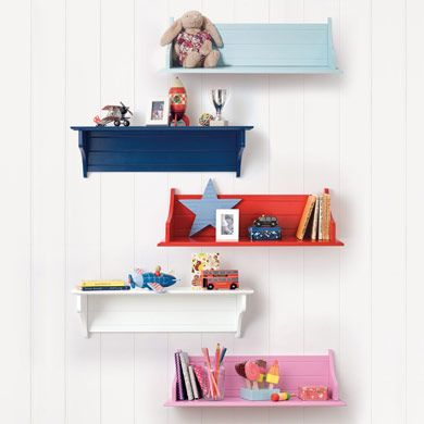 Any Which Way Wall Shelf Bookcases  Bookshelves Storage - Wall bookshelves for kids
