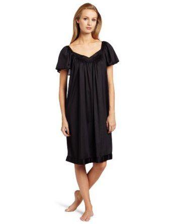 Vanity Fair Women's Colortura Flutter Sleeve Gown