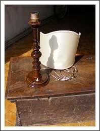 Introvabile lampada da tavolo