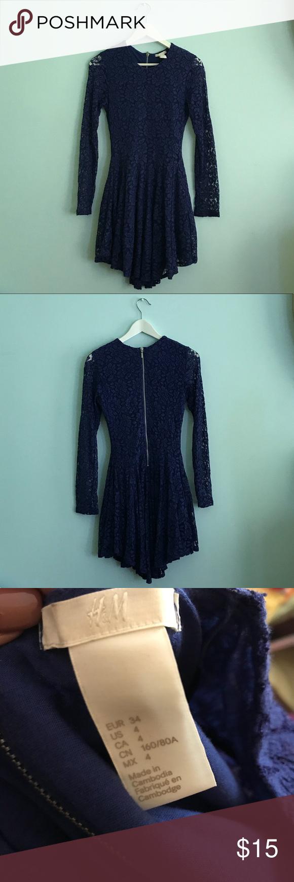 H&m green lace dress  Long sleeve lace dress  My Posh Closet  Pinterest  Lace dress