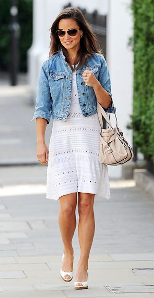 Photo Gallery | Cropped denim jacket, Denim jackets and Pippa ...