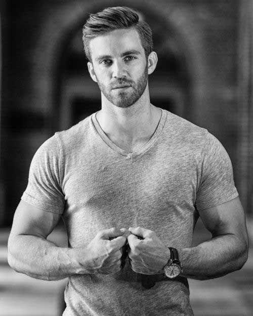 Casual Men Hairstyles | mens haircut | Pinterest | Hot guys, Bear ...