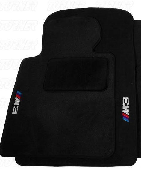Bmw M3 E46 3 Series Convertible Black Carpet Floor Mat 2001 2006 Genuine Oem New Bmw M3 Black Carpet Bmw M3