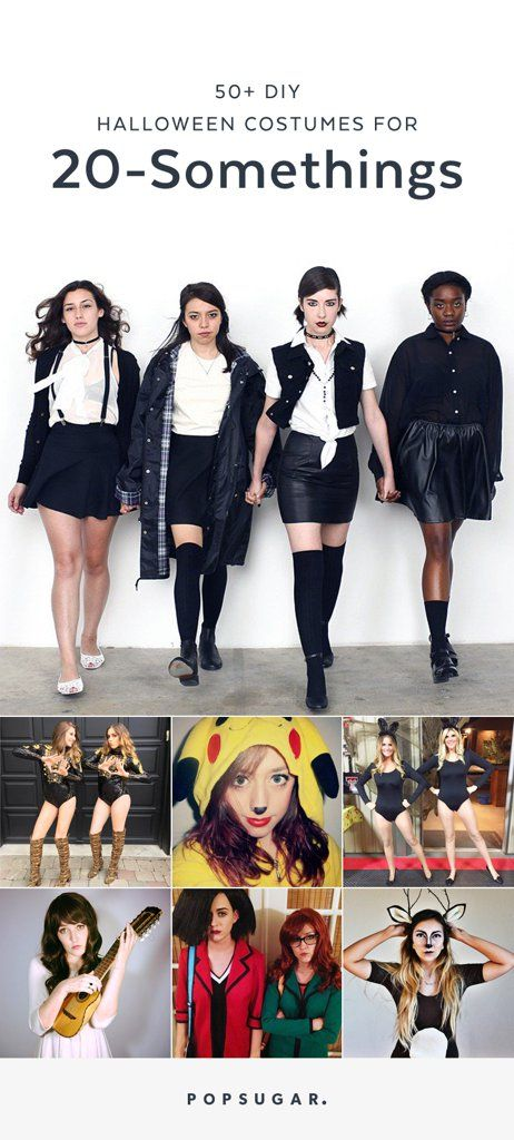 56 DIY Halloween Costumes Perfect For 20-Somethings Pinterest - super easy halloween costume ideas