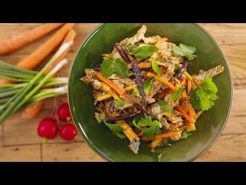 Chinese chicken salad youtube chinese food pinterest chinese chicken salad youtube forumfinder Images