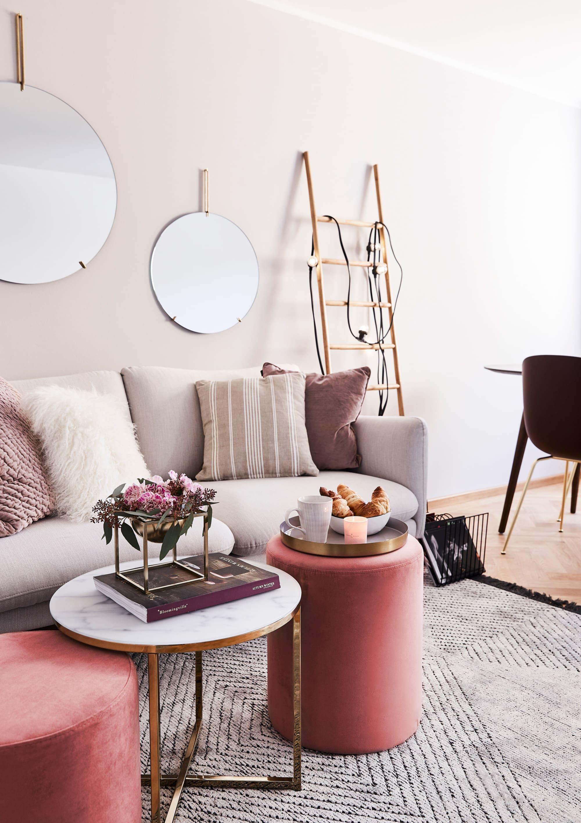 Coral Velvet Dorado Marmol Living Room Decor Brown Couch Blush Living Room Decor Brown Furniture Living Room