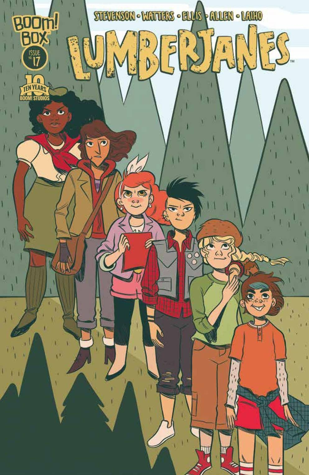 Lumberjanes (2014) Issue 17 Comics, Cute comics