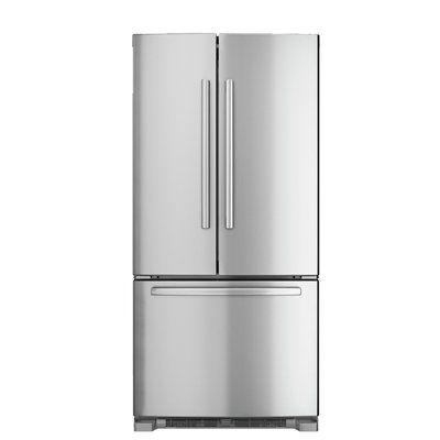 Bosch B22FT80SNS 800 Series 22-cu ft 3 French Door Refrigerator ...