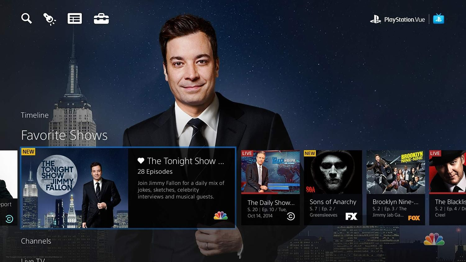 Playstation Vue Brings Live Tv To Amazon Fire Tv Fire Tv Stick Playstation Netflix Technologie