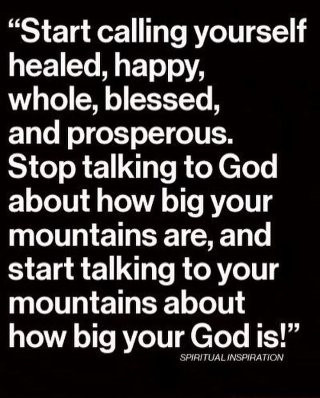 MY GOD IS BIGGER THAN ANYTHING YOU GOT. | Words ...