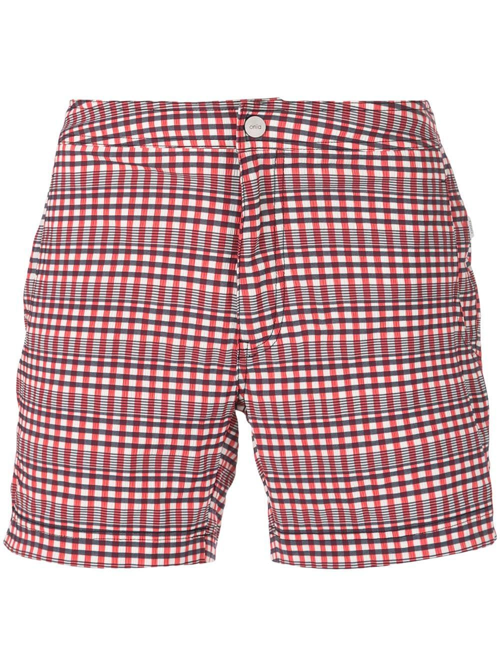 625509ff22 ONIA ONIA CALDER SWIMMING TRUNKS - RED. #onia #cloth   Onia in 2019 ...