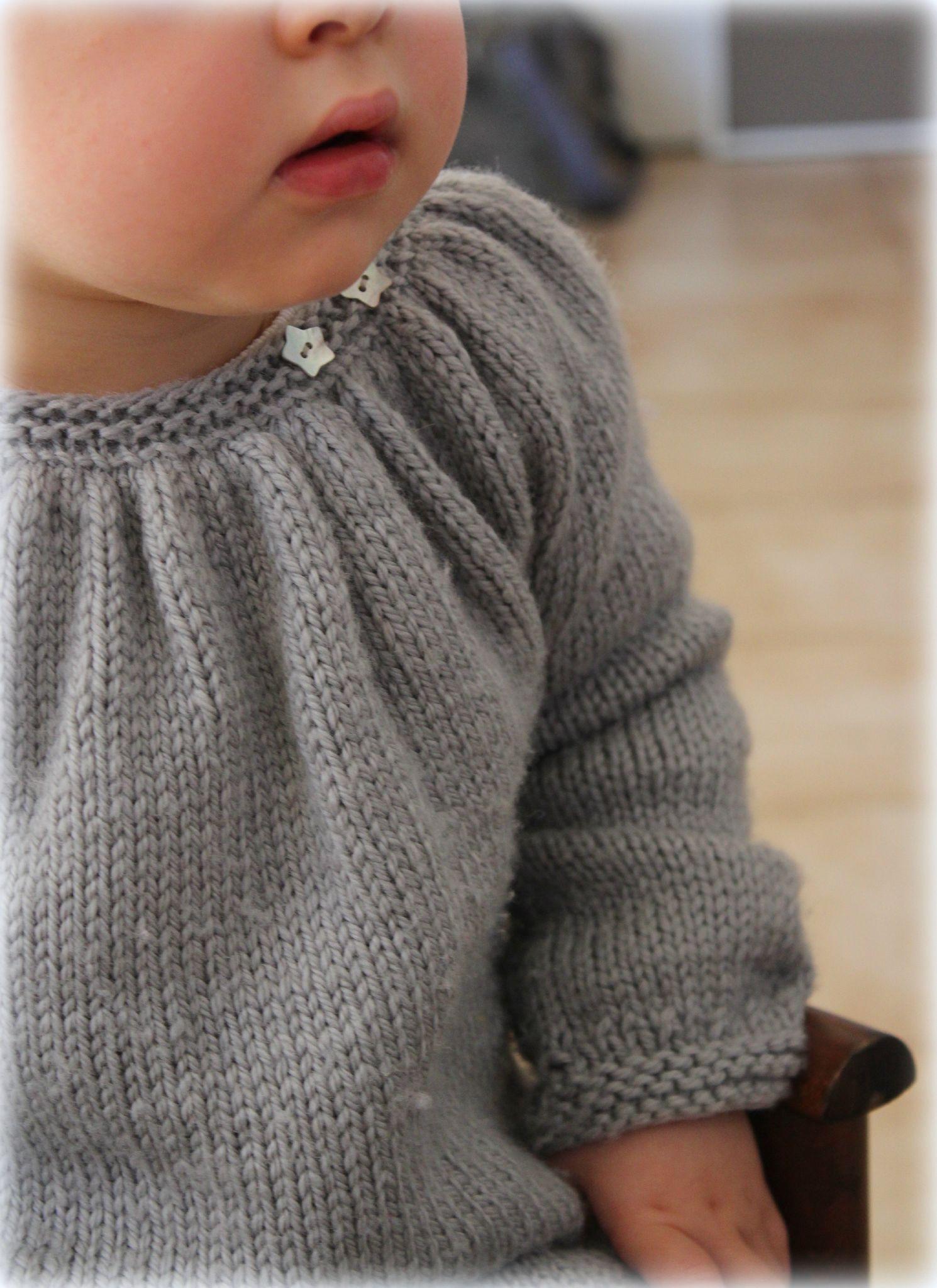 Pull KINA - La petite vie de So...   Knit   Pinterest   Knitting ... 0cc5ba3cd18e
