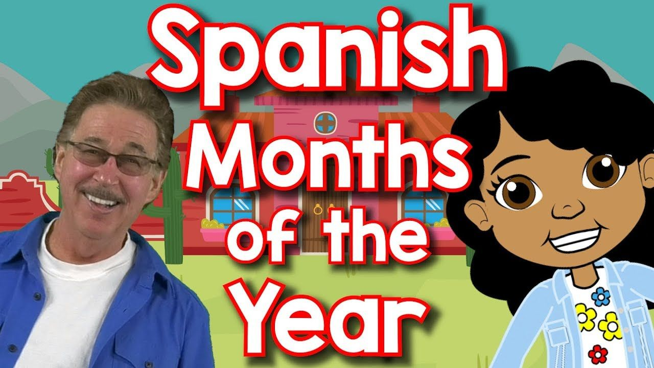 Spanish Months of the Year Doce Meses del Año Jack