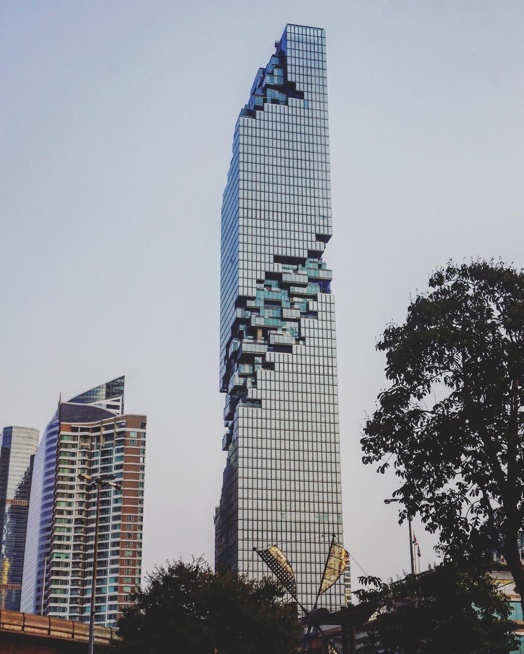 Mahanakhon skyscraper modern architecture pinterest for Bangkok architecture