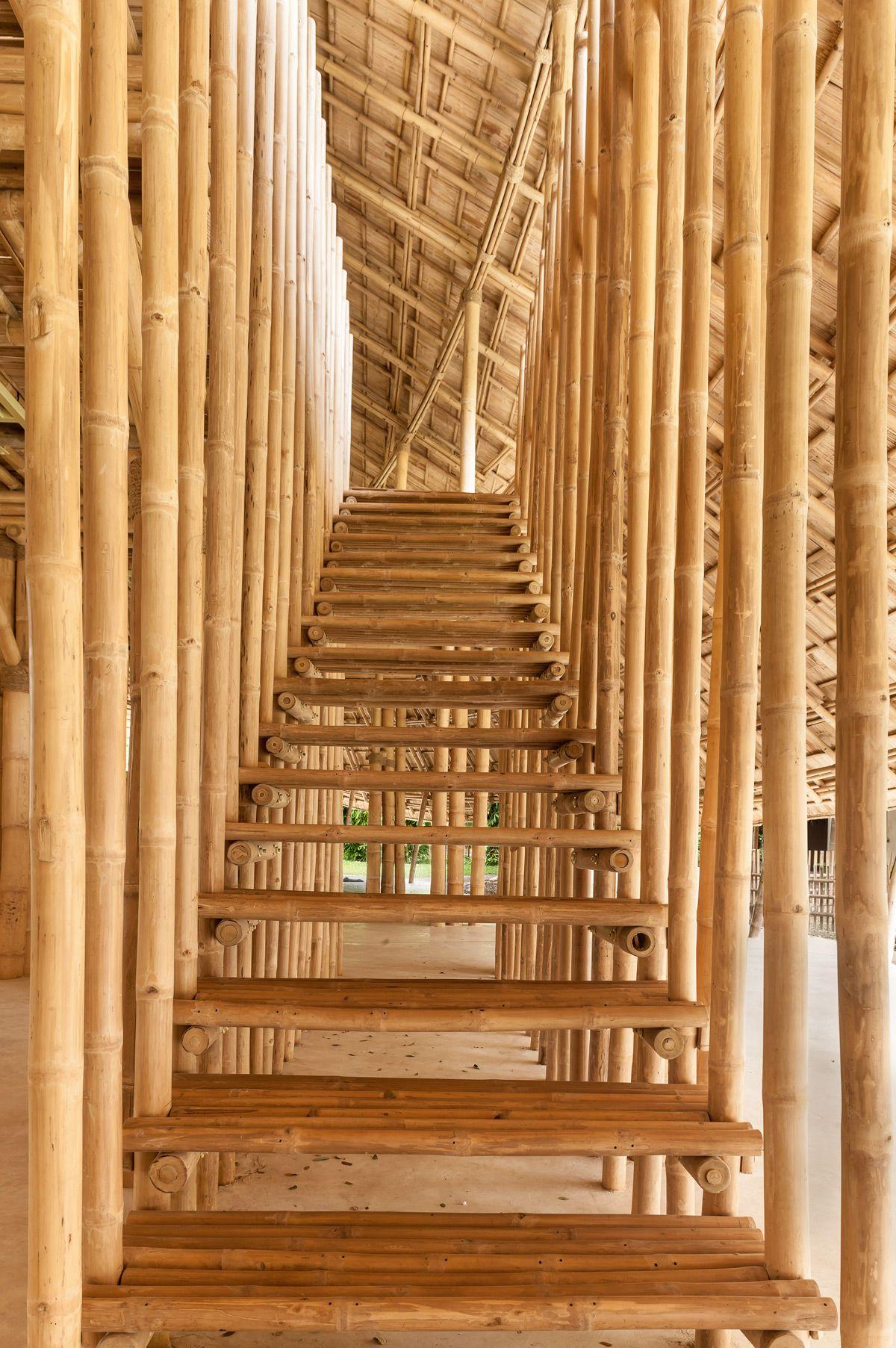 Gallery Of Bamboo Sports Hall For Panyaden International School