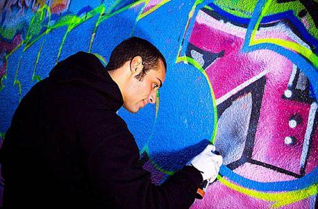 graffiti workshop kreatives geschenk f r teenies und junggebliebene geschenke f r m nner. Black Bedroom Furniture Sets. Home Design Ideas