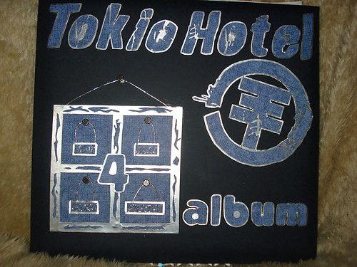 tokio hotel scrapalbum voorkant - Scrapbook.com