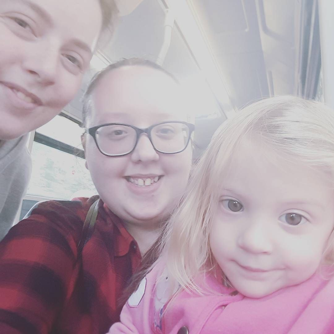 Babysitting Duties . Absolutely Loved Being On A Bus #neice #family  #familymatters #  Babysitting Duties