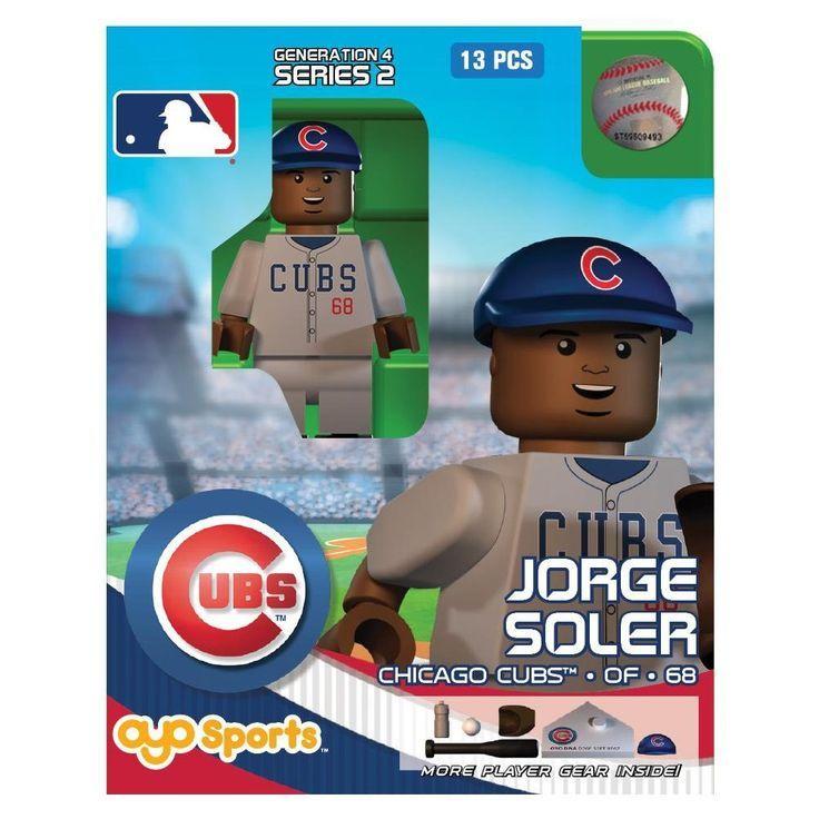 Chicago Cubs MLB Oyo Sports Mini Figure Soler Mlb