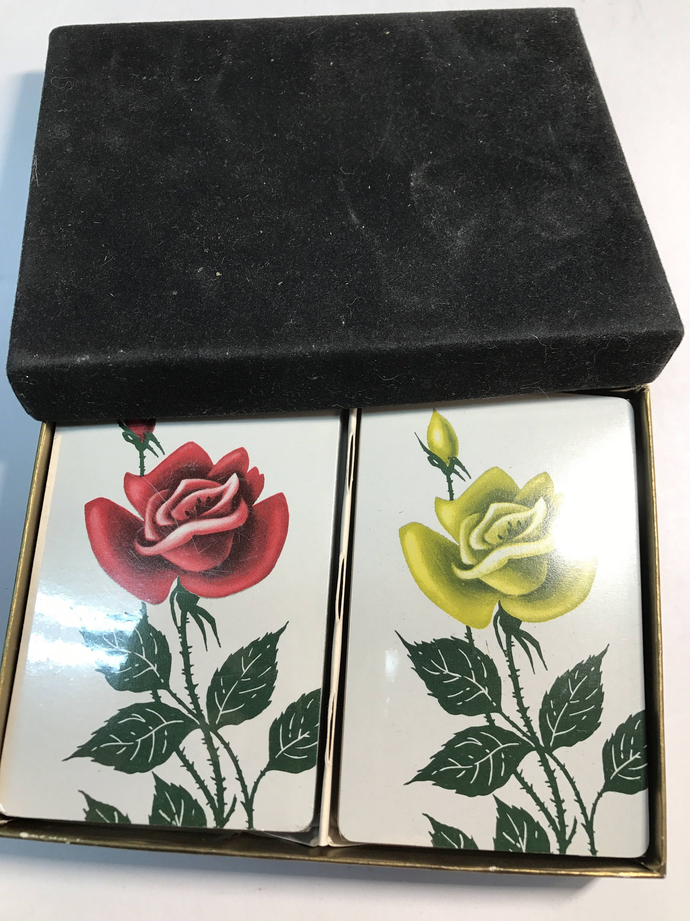 vintage playing cards etsy