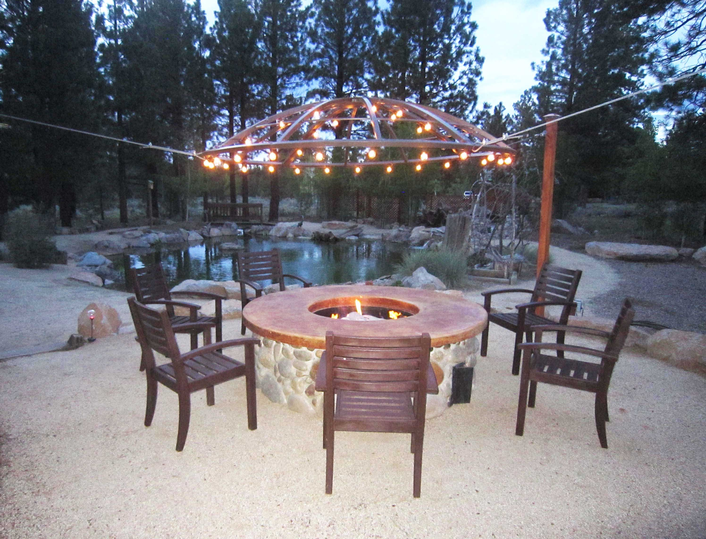 Wed Love Smore Awesome Customer Photos Like This One From Daniel An Outdoor Light Fixture Wiring In Addition Led Lighting He Used Our Black Wire Globe Lights And Upcycled A Satellite Dish To Create