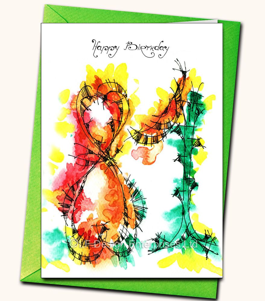 Details about 81st Birthday Handmade card, Personalised