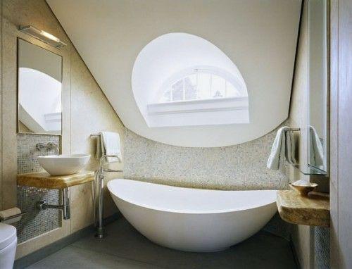 Elegant 21 Unglaubliche Ideen Für Badezimmer Im Dachgeschoss