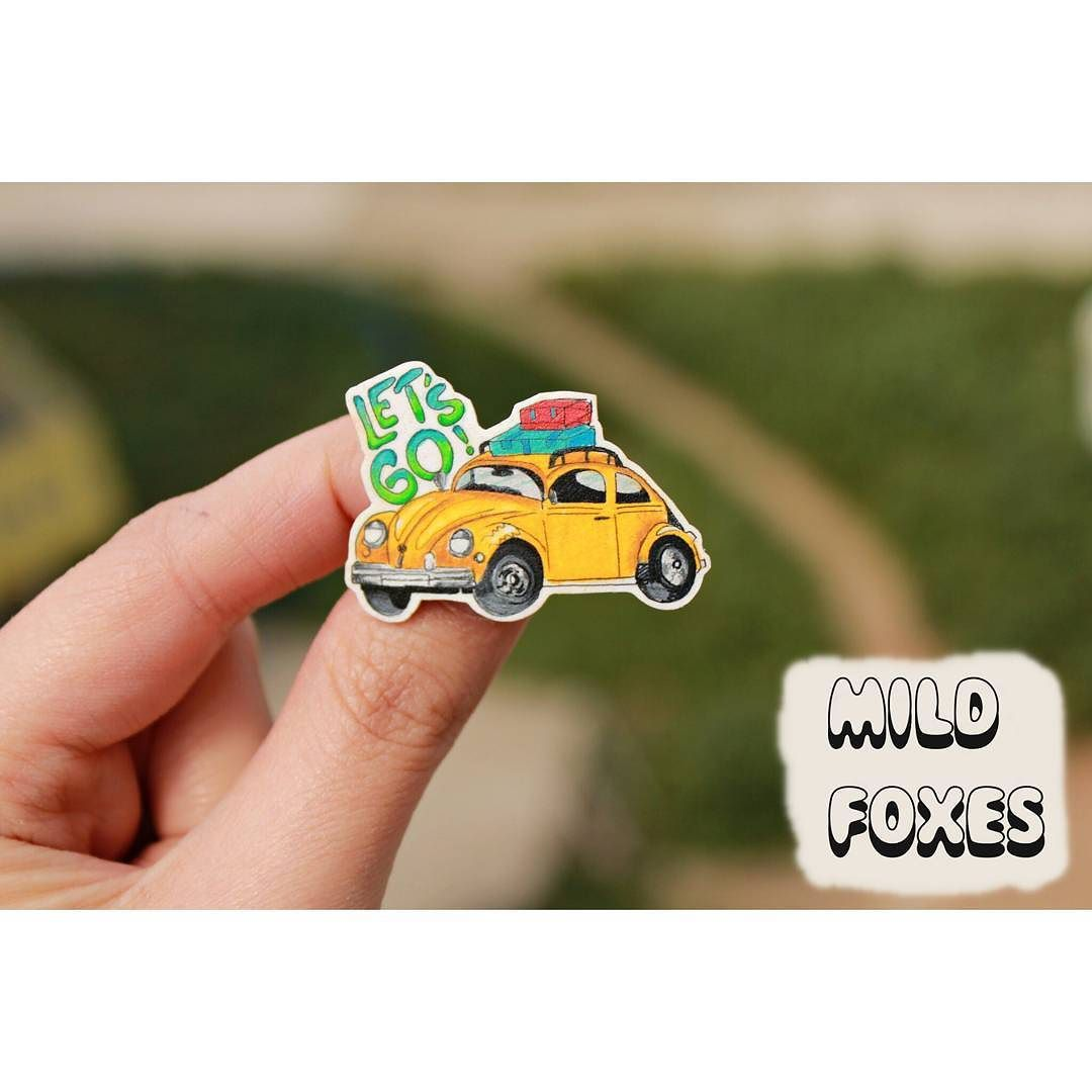 Adventure Time!! Let's Go Everywhere!! Yellow beetle brooch  #mildfoxes #handmadewithlove #brooch #pin #brooches #pins #yellow #yellowbeetle #travel #adventure #letsgo #letsgoeverywhere #letsgoanywhere #wanderlust #etsy #etsyfinds #summer #jewerlydesign #art #artwork #illustrationoftheday by mildfoxes