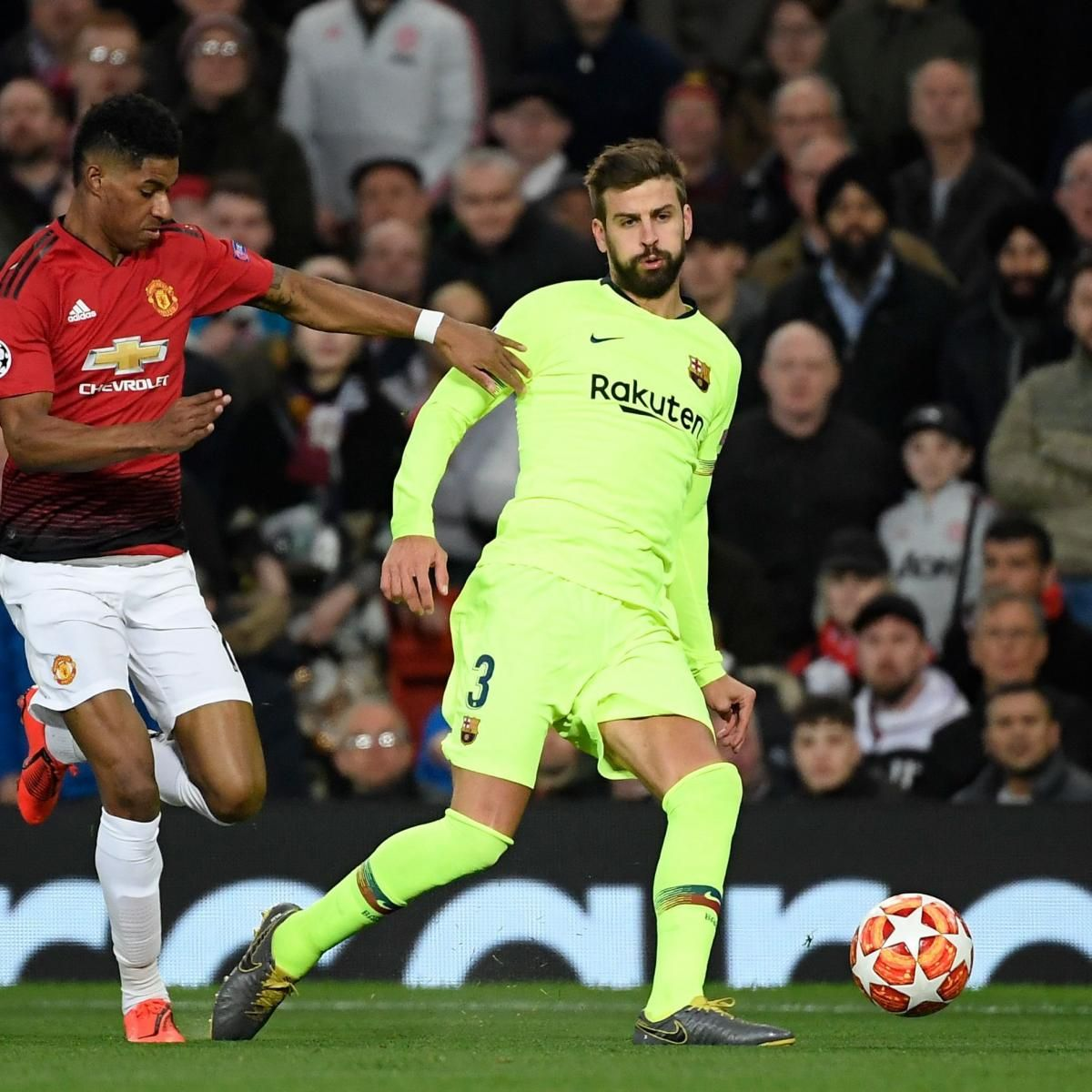 Gerard Pique Says Barcelona Still Wary of Manchester
