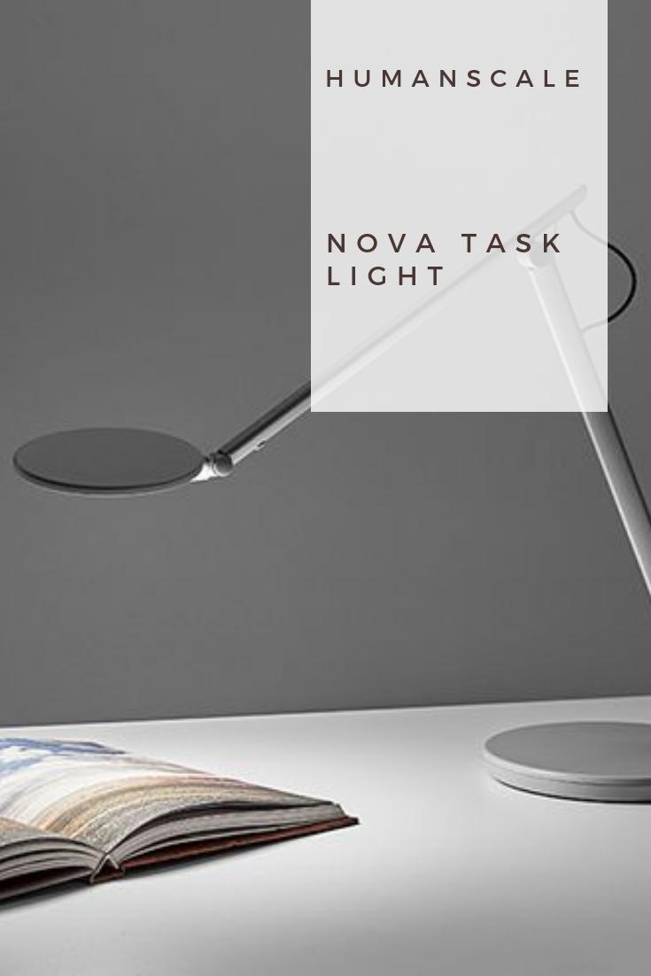 NEW Humanscale Nova Task Light Task lighting, Balance