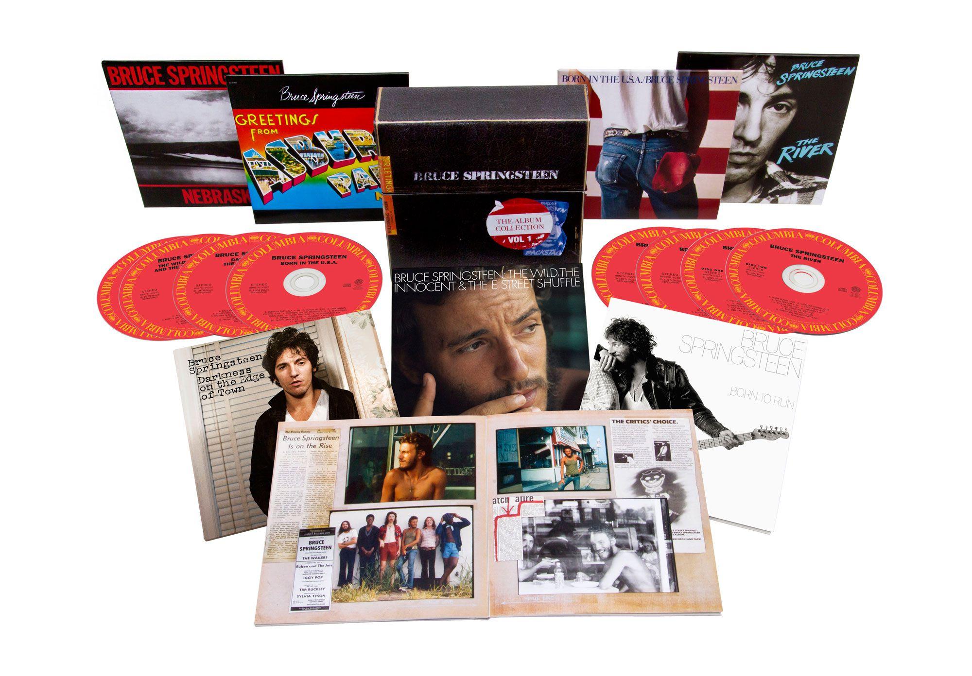 Bruce Springsteen: in arrivo un cofanetto con i primi sette album rimasterizzati - Suoni e strumenti