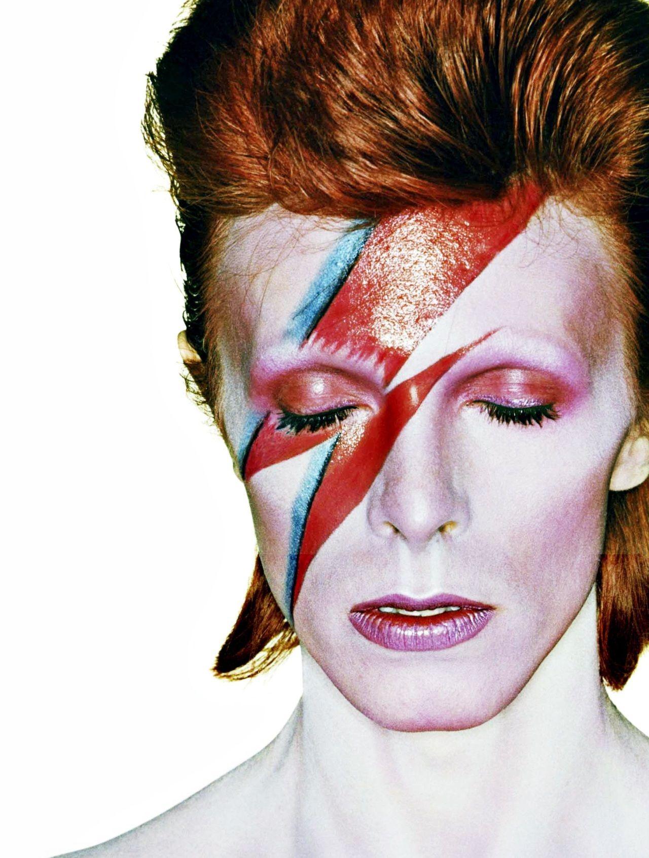 Ziggy Stardust David Bowie Costume David Bowie Makeup David Bowie Ziggy Stardust
