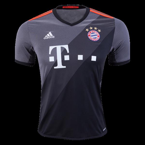 Bayern Munich 16 17 Away Soccer Jersey 2016 17 Uefa Champions League The Jerseys Apparel Gear Available Now A Camisa Do Bayern Bayern Camisas De Futebol