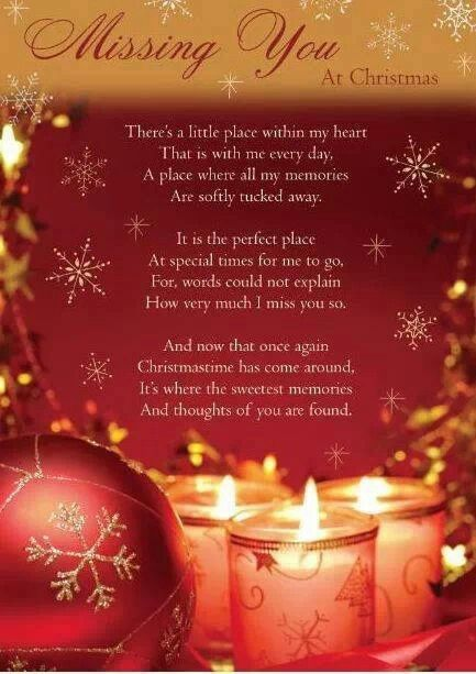 Missing Mom Quotes: Miss You Most At Christmas Time :(