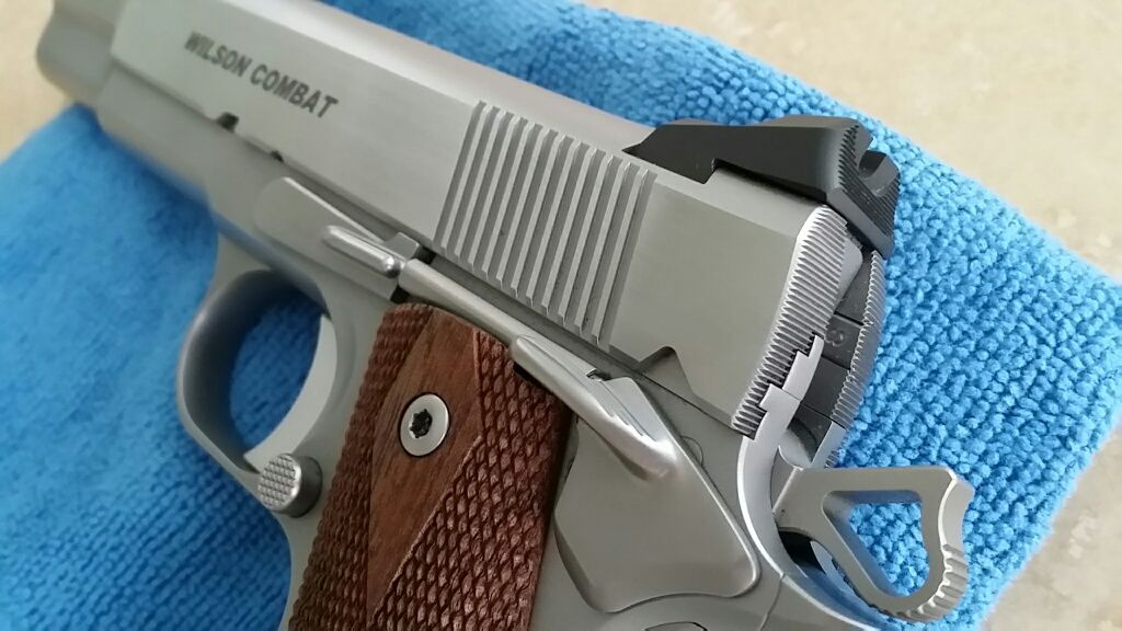SOLD - Wilson Combat Tactical Carry w/stainless upgrade